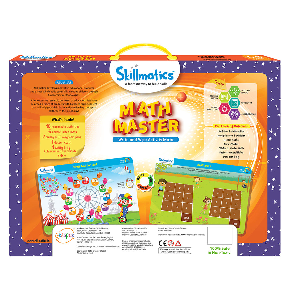 Skillmatics Educational Game - Math Master