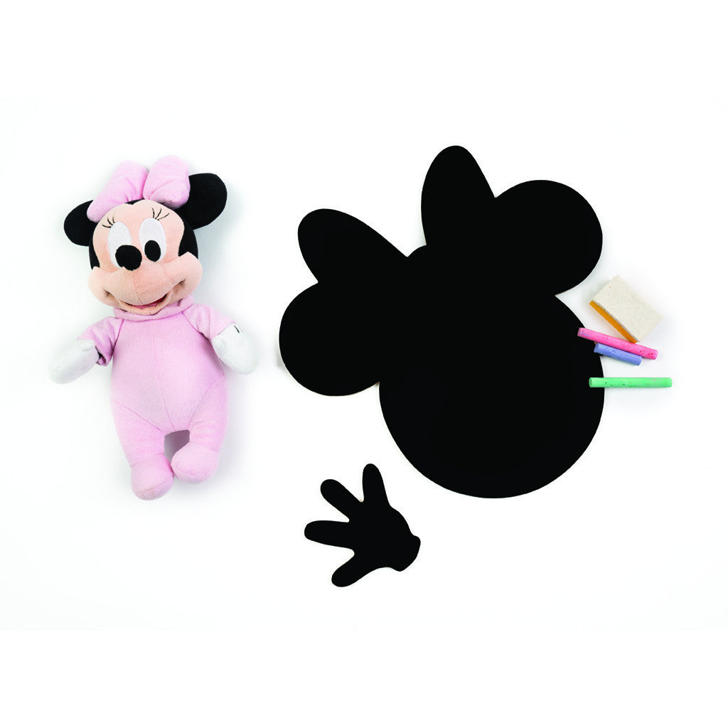 Meal Time Shaped Chalkboard Mat & Coaster - Minnie Mouse