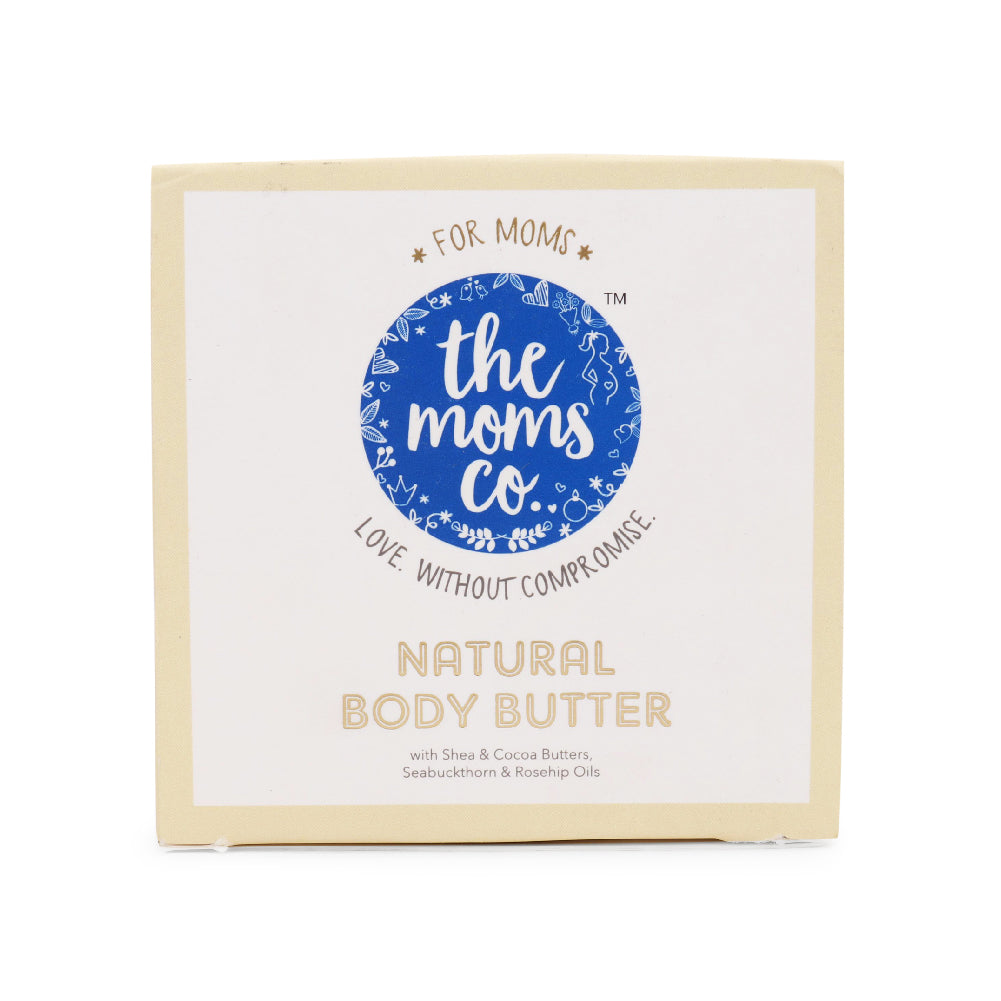Natural Body Butter for Itchy Belly, Stretch Marks (200g / 7 Oz.)