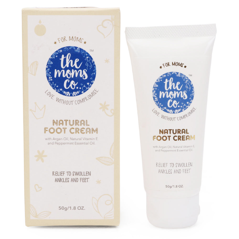 Natural Cooling Foot Cream for Swollen, Tired Feet and Ankles (50g / 1.8 Oz.)