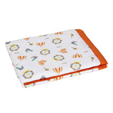 Muslin Blanket 2 Layered - Carnival, Orange