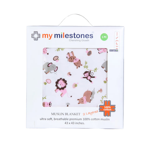 products/My_Milestones_Muslin_Blanket_2_Layered_Pink_Front.jpg