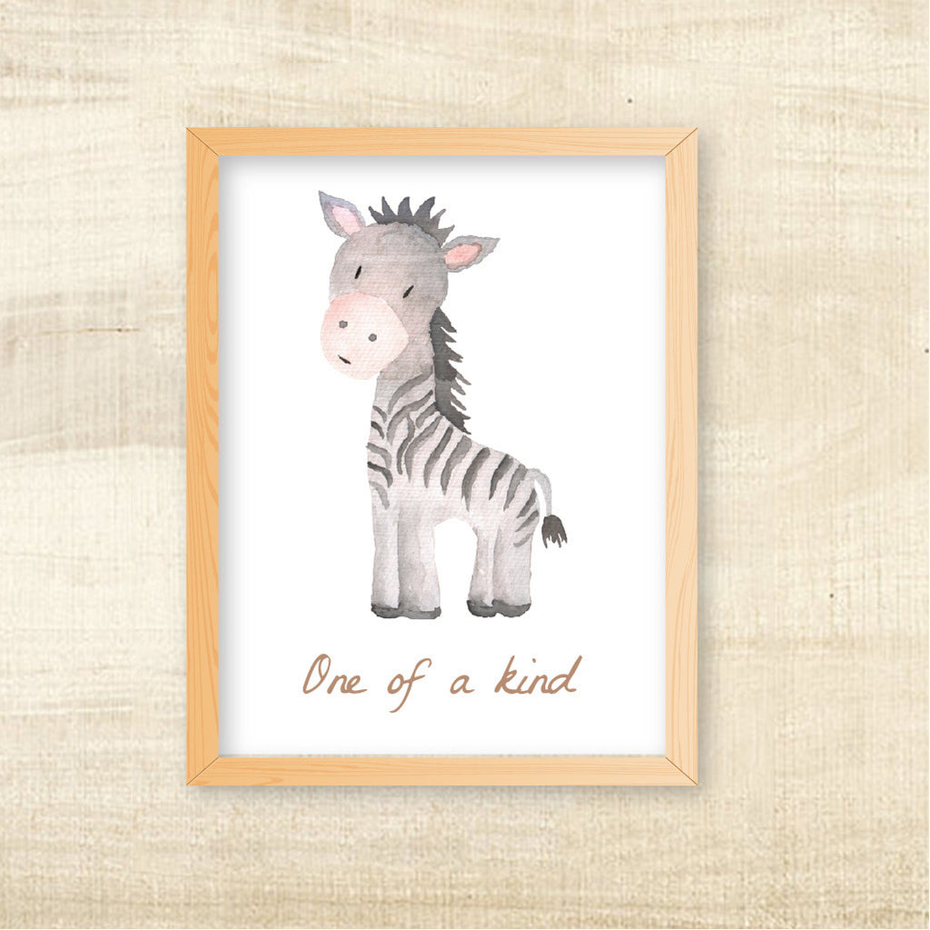Animal Themed Wall Art, Pink