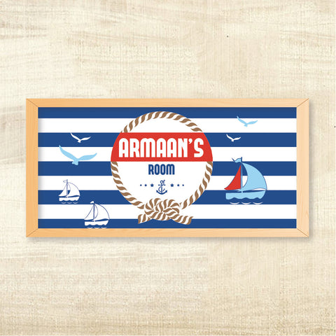 Name Frame - Nautical