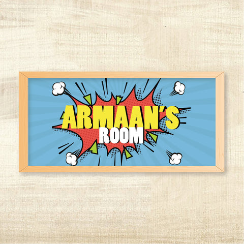 Name Frame - Pop Art, Boy