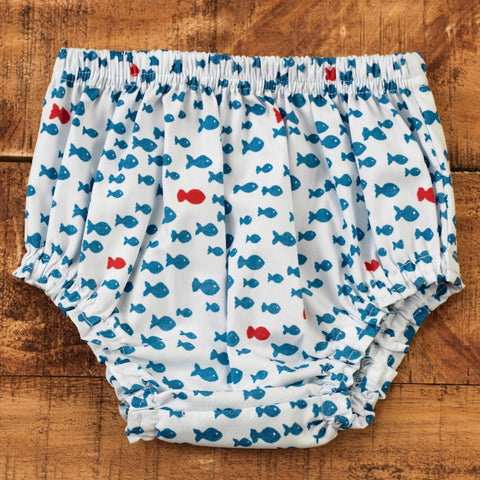 Nautical Diaper Cover