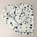 Navy Stars Shorts Set