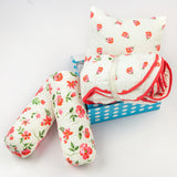 """Night Night"" Organic Crib Gift Set (Blossoms)"