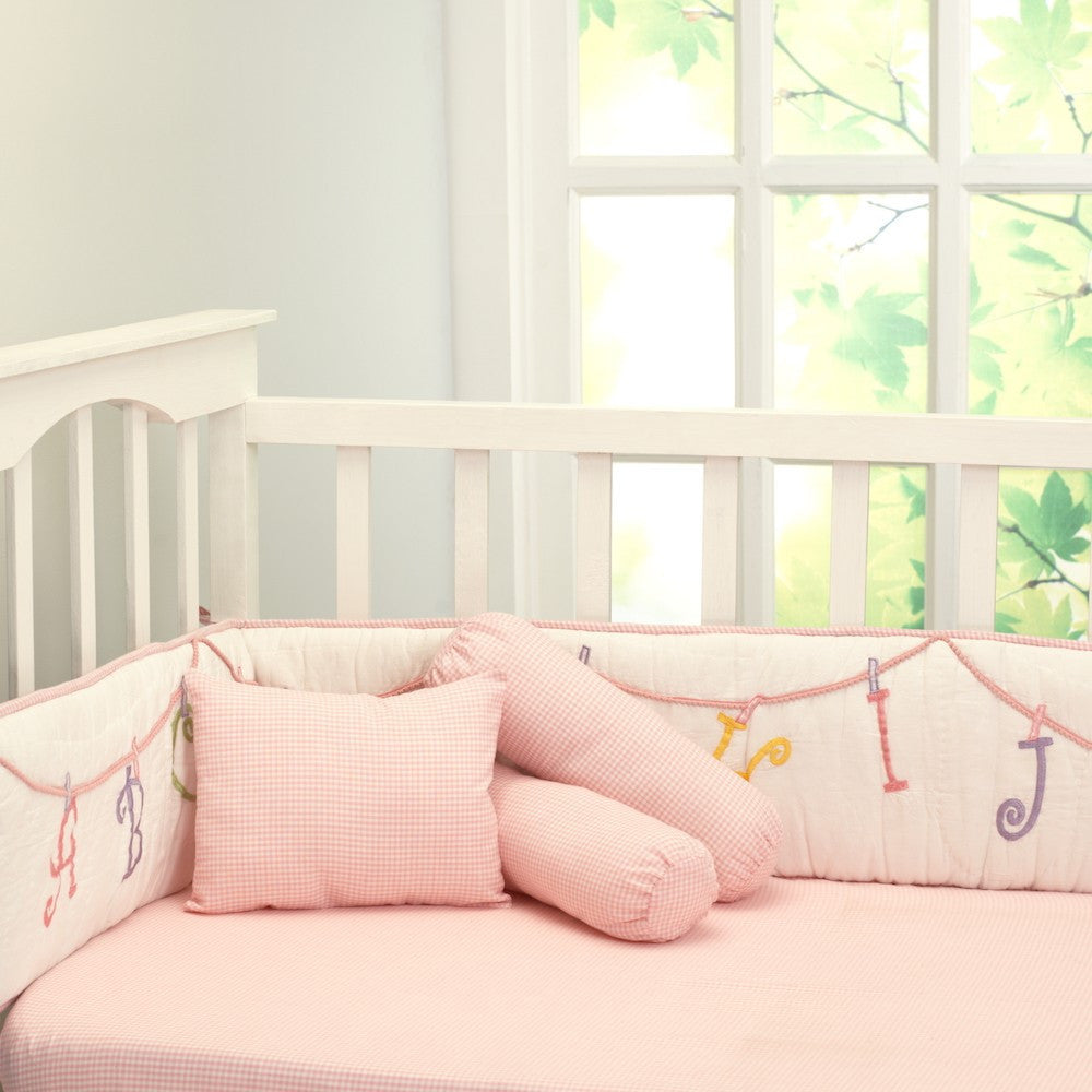 Now I Know My ABCs Girl Bedding Set