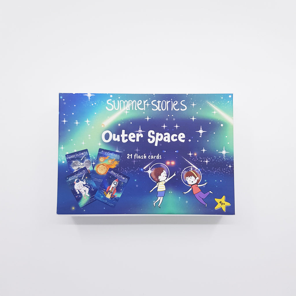 Summer Stories - Outer Space Flash Cards