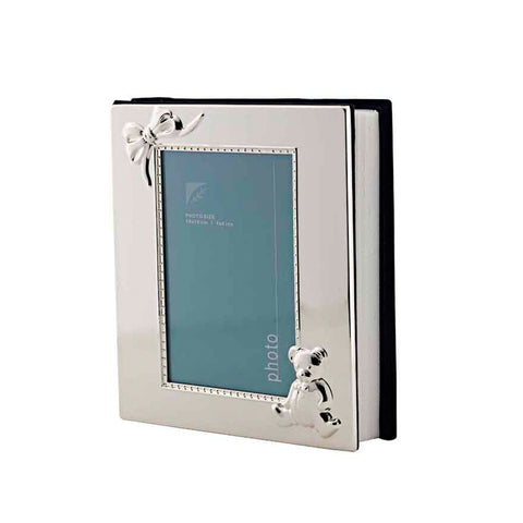 Frazer & Haws 92.5 Silver Plated Baby Photo Album
