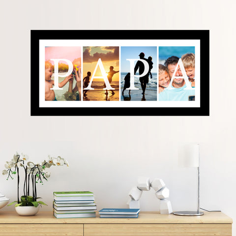 Wall Art - Papa Frame