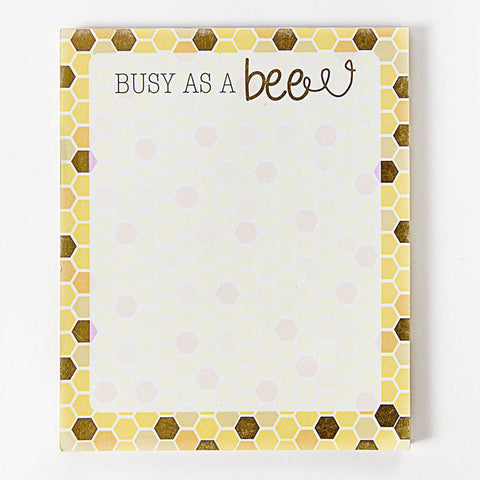 'Busy As a Bee' Notepad