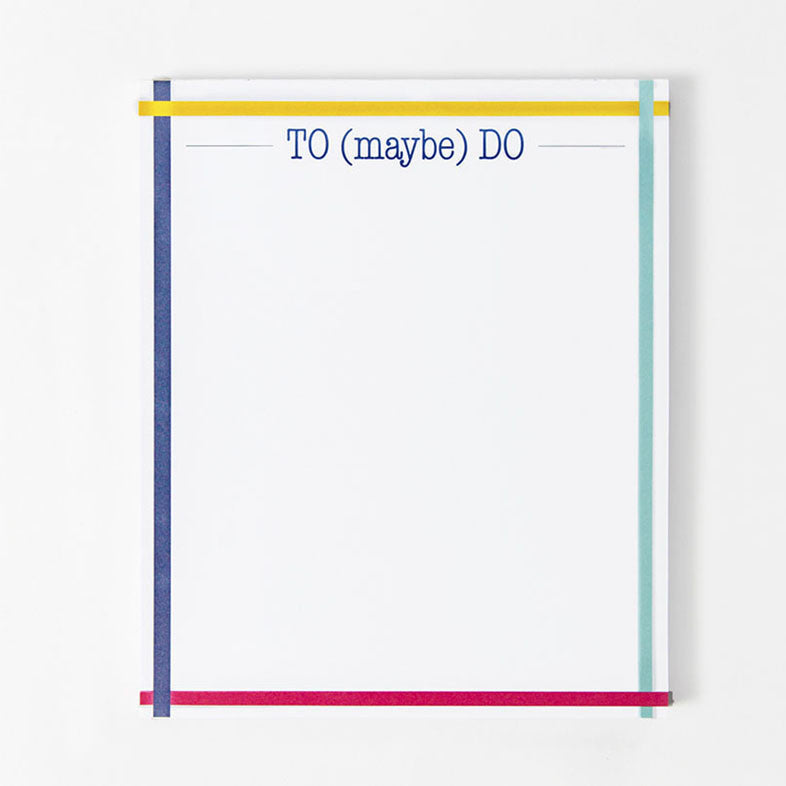 To (Maybe) Do Notepad