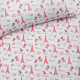 Fitted Cot Sheet - Paris