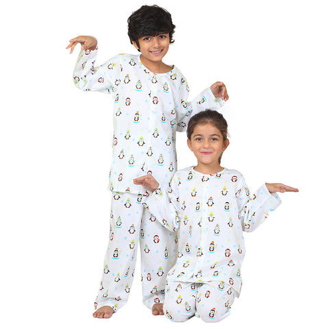 Kid's Pyjama Set <br> Penguin
