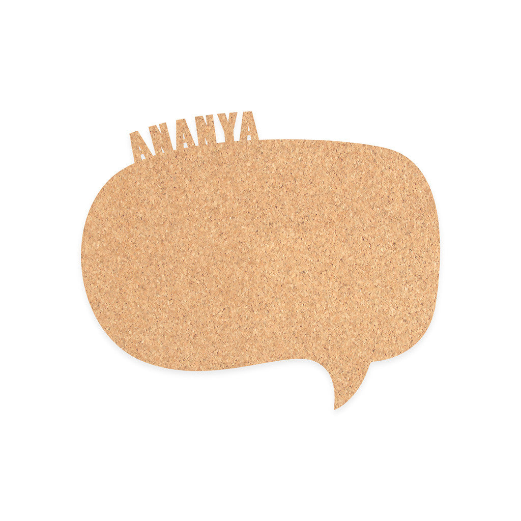 Pin – your – Interests Board - Speech Bubble