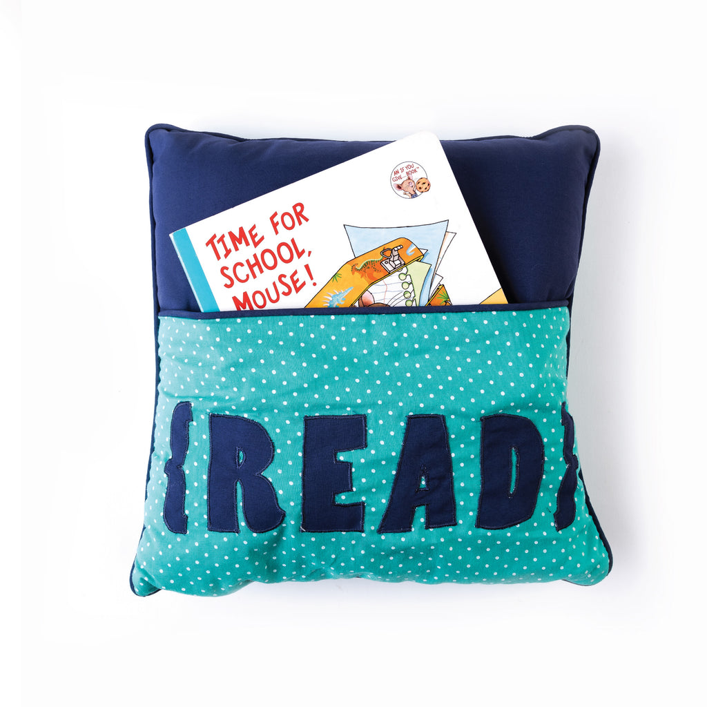 Pocket Pillow -  Read Pillow