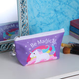 Rectangle Long Magical Unicorn Multipurpose Pouch