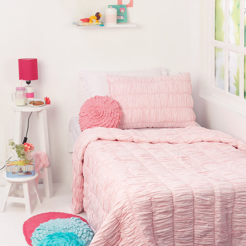 Ruffilicious Kids Bedding Set <br> With Free Personalisation, Ages 3 to 15
