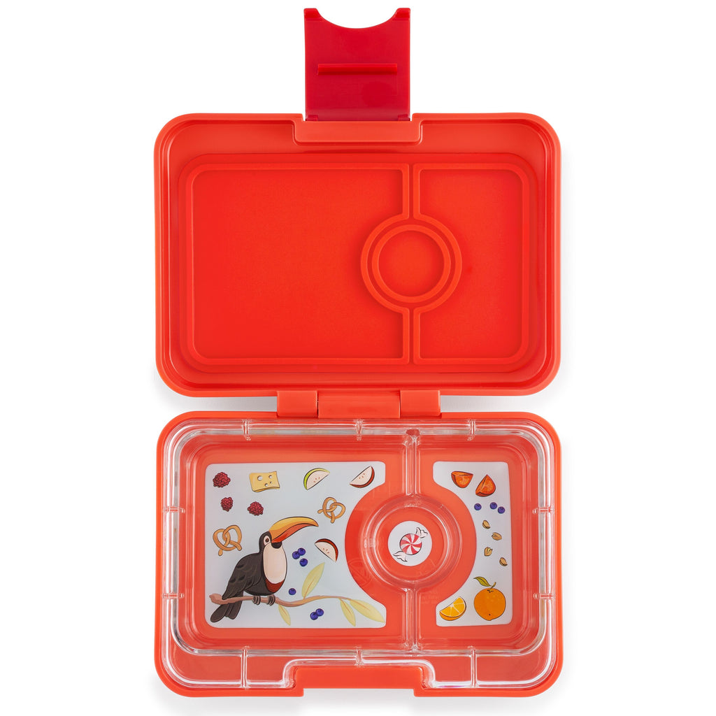 Yumbox Mini Snack - Saffron Orange