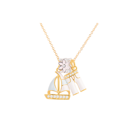 Sailing In Style, Gold Plated Collection