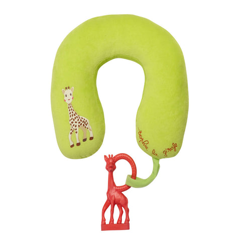 Sophie la Girafe Head Pillow + Vanilla Teether