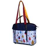 My Milestones Diaper Bag Ladylike - Raindrop