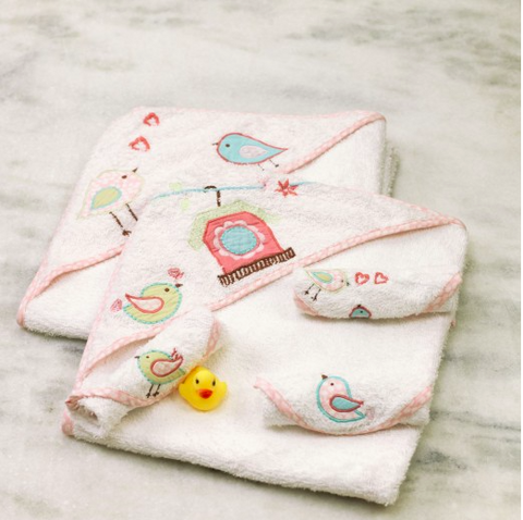 """Bathtime Essentials"" Gift Set - Sweet Melody Collection <br> <span style=""font-size: 11px; font-family:Helvetica,Arial,sans-serif;"">Can Be Personalised</span>"