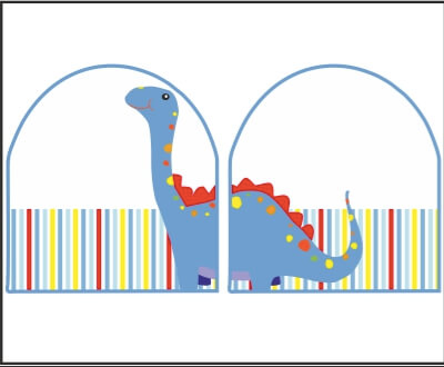 Shoe Labels - Dinosaur