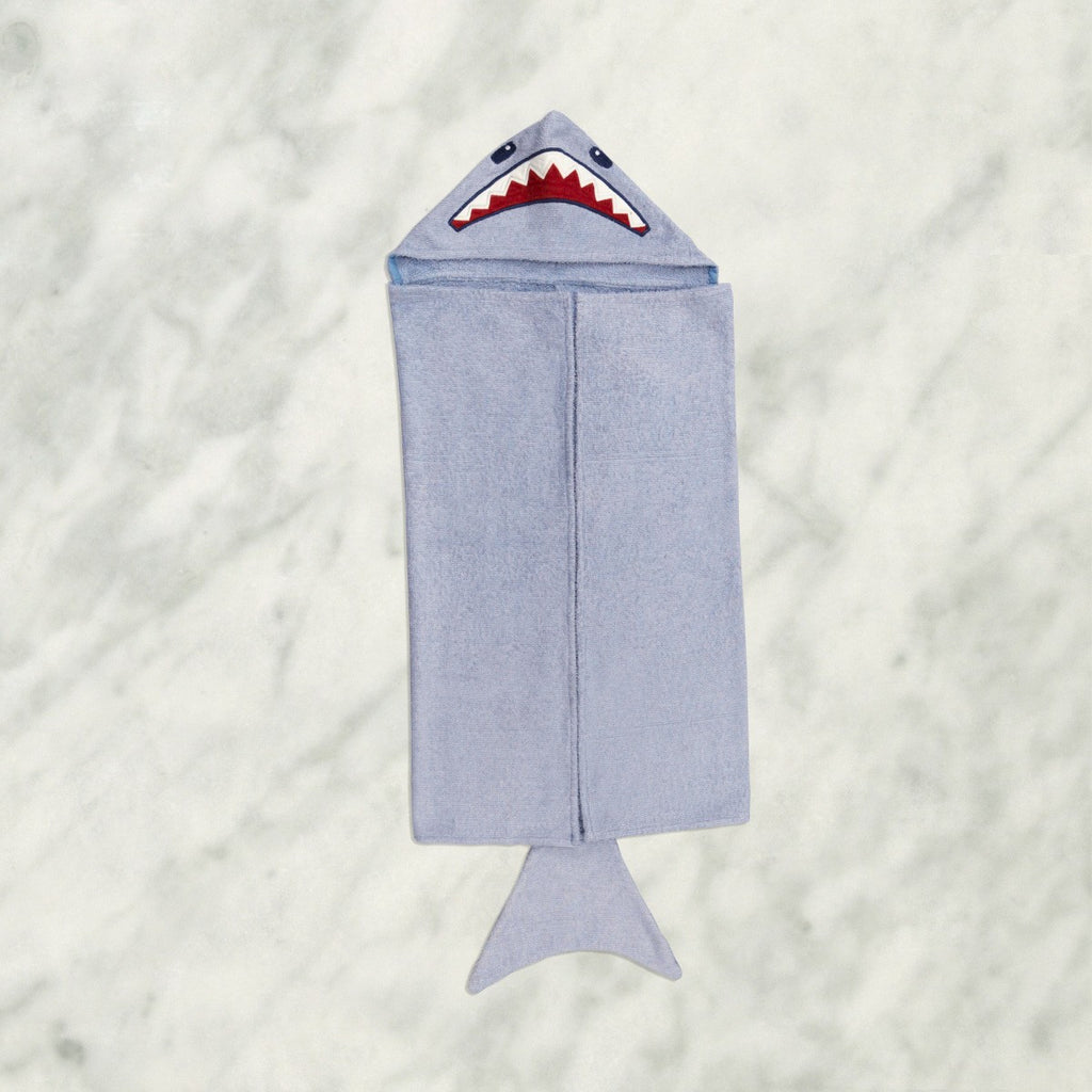 "Shark Animal Bath Wrap <br> <span style=""font-size: 11px; font-family:Helvetica,Arial,sans-serif;"">Can Be Personalised</span>"