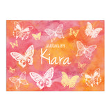 Personalised Sketch Book - Butterfly