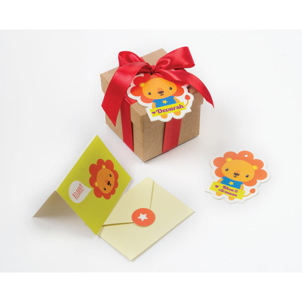 Stationery for the Little Ones - Lion