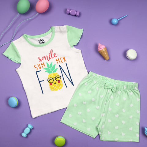 Summer Shenanigans Short Coordinate Set (NB, 0-24M)