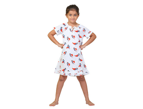 Girl's Nighty <br> Super Girl