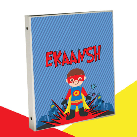 Personalised Binder - Superhero