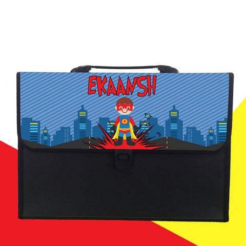 Personalised Folder - Superhero