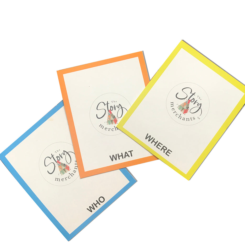 Spin a Story - 90 Picturesque Story Cards