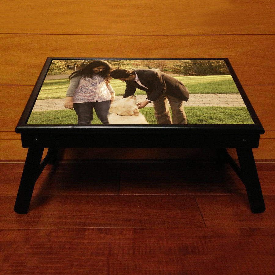 Personalised Bed table, with 1 Photo