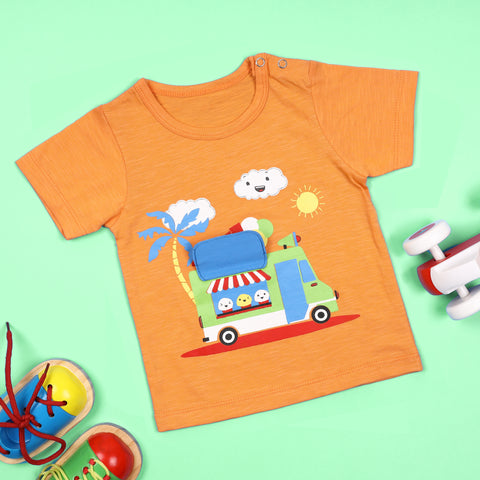 Tasty Treats Truck 3D Tshirt (3-24 Months)