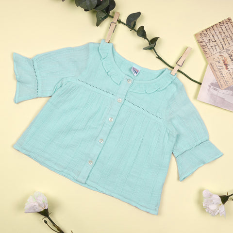 The Cool Blue Top (3-24 Months)