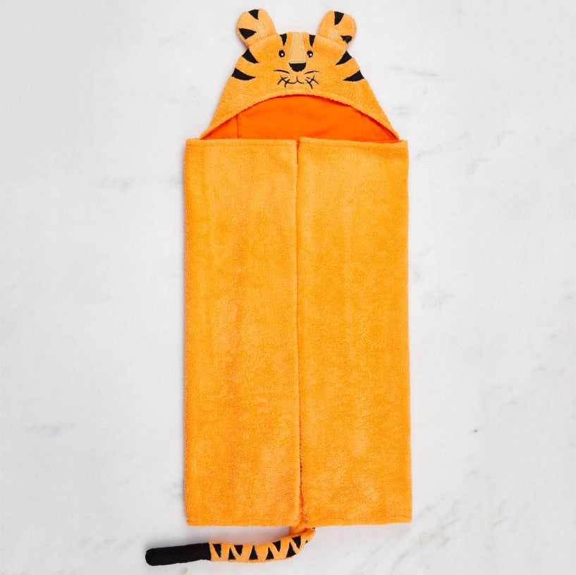Tiger Animal Bath Wrap