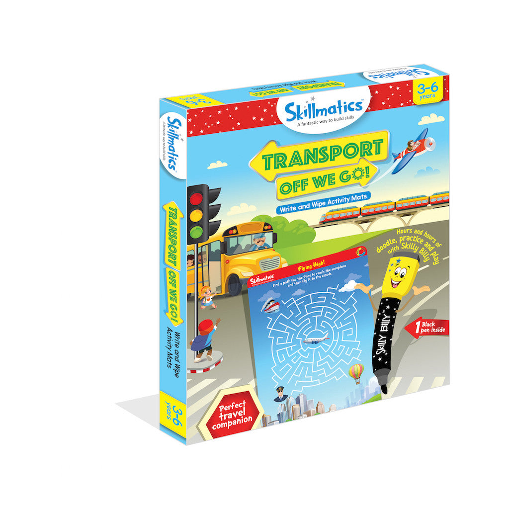 Skillmatics Educational Game - Transport Off We Go