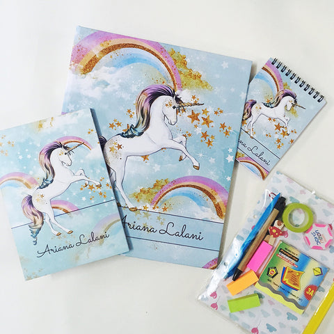 Ultimate Stationery's Addicts Hamper - Unicorn, Pack of 6