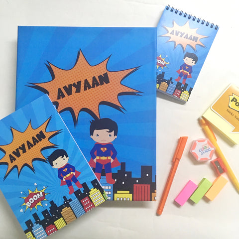 Ultimate Stationery's Addicts Hamper - Superboy, Pack of 6
