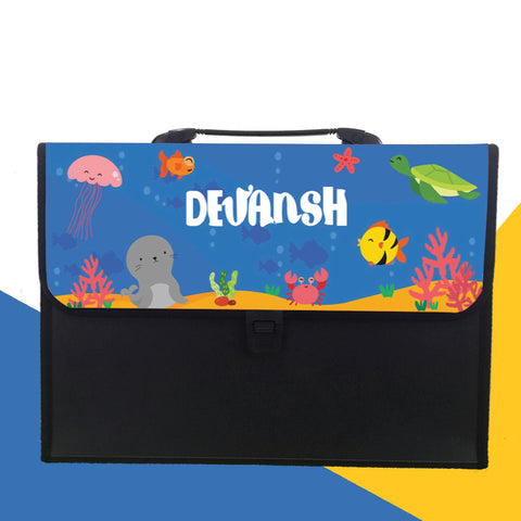 Personalised Folder - Underwater