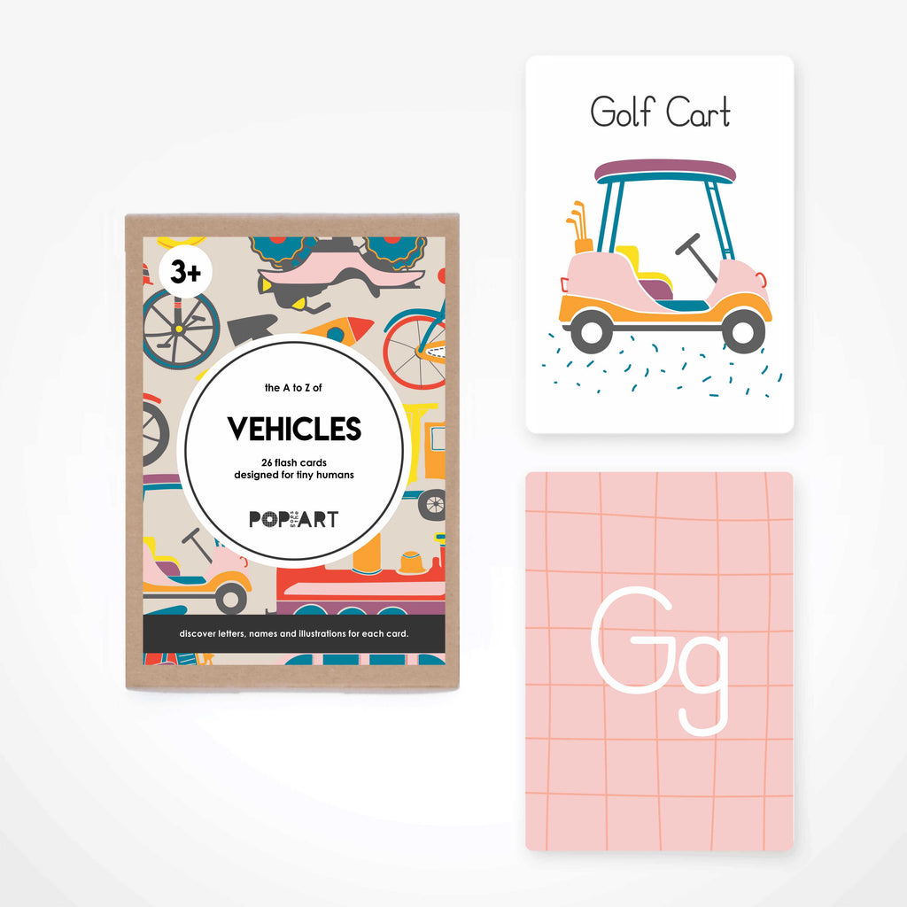 Flash Cards | Vehicles