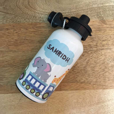 Personalised Water Bottle - Farm Animals
