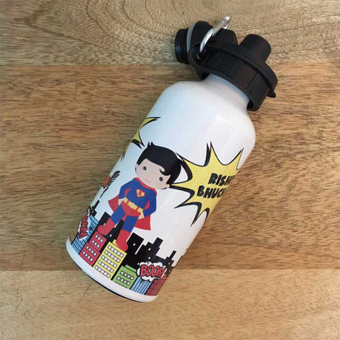 Personalised Water Bottle - SuperHero