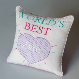'World's Best Sister' Pillow